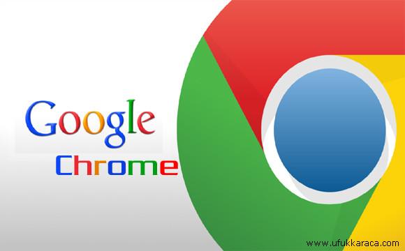 Google Chrome yedek alma (Programsız)