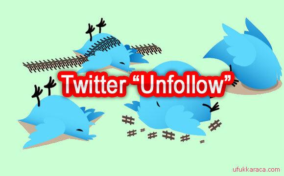 Twitter Toplu Unfollow Kodu