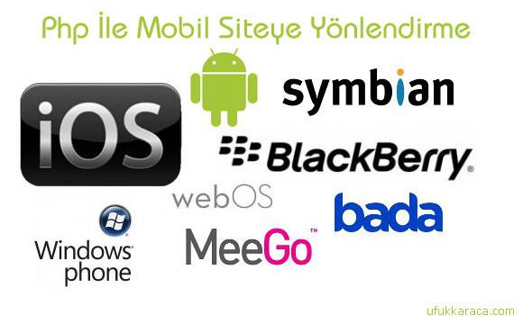php mobil siteye yönlendirme kodu wordpress